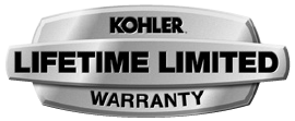 Kohler Limited Lifetime Warranty.